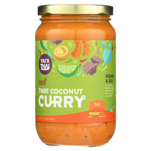 Yai's Thai - Thai Coconut Curry - Red Curry - 16 oz
