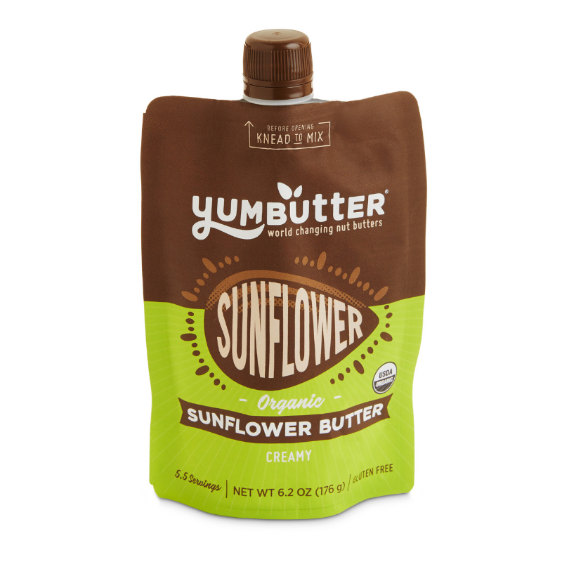 Yumbutter - Organic Sunflower Butter - 6.2 oz