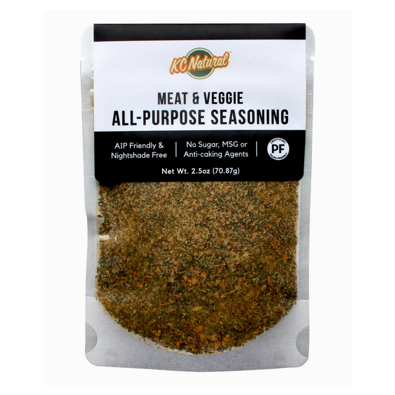 KC Natural - AIP Meat & Veggie All-Purpose Seasoning - 2.5 oz