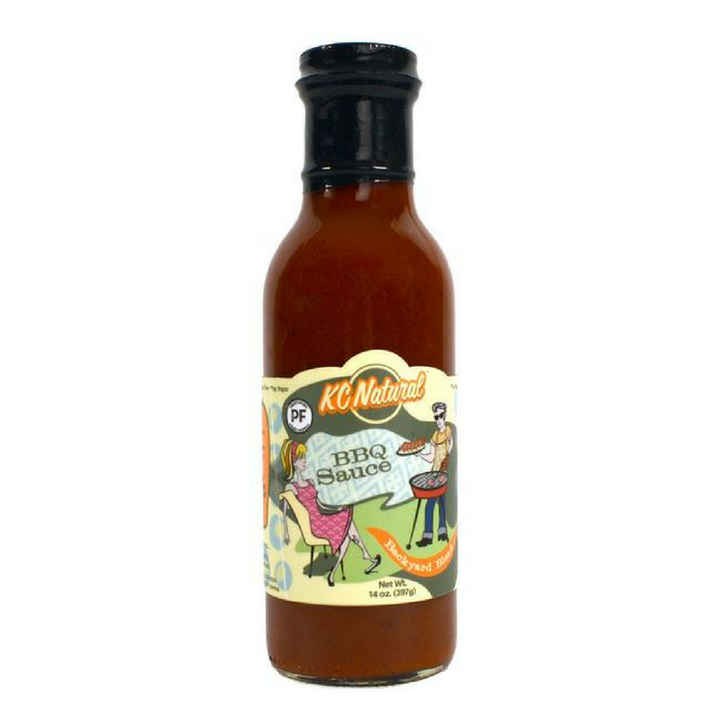 KC Natural - Backyard Blend Barbecue Sauce - 14 oz