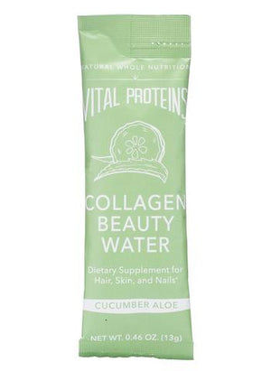 Vital Proteins - Collagen Beauty Water Stick Packs - Cucumber Aloe