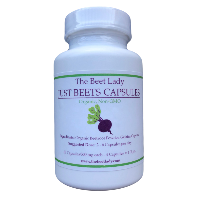 Beet Lady -  Organic Just Beets Capsules - 60 ct