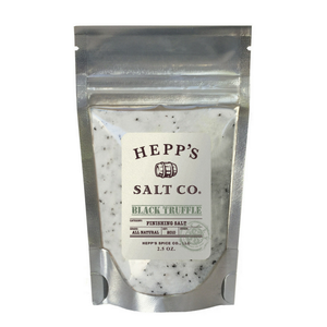 Hepp's Salt - Black Truffle Sea Salt - 2.5 oz