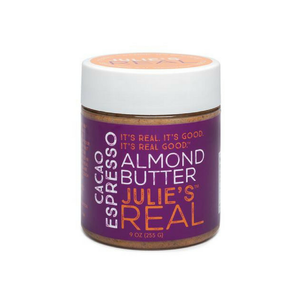 Julie's Real - Cacao Espresso Almond Butter - 9 oz