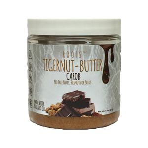 Roots - Tigernut Butter - Carob - 7.5 oz