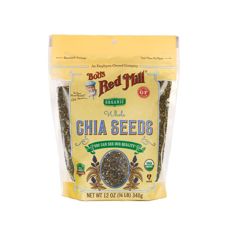 Bob's Red Mill - Organic Chia Seeds - 12 oz