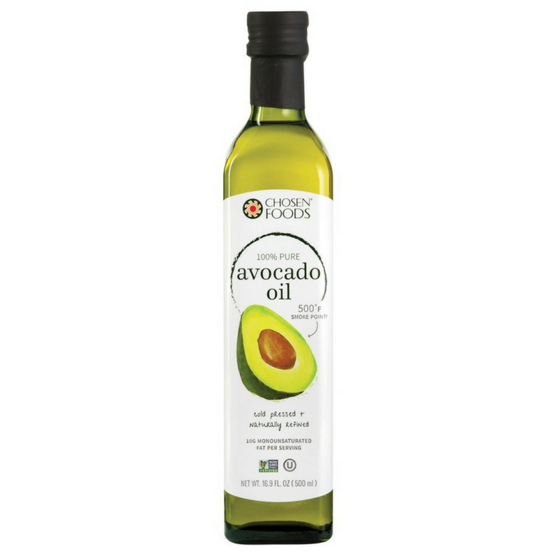 Chosen Foods - Cold Pressed Avocado Oil - 500 ml