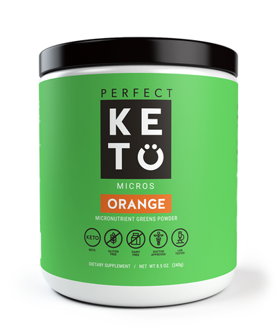 Perfect Keto - Micronutrient Greens Powder with MCT - 8.5 oz
