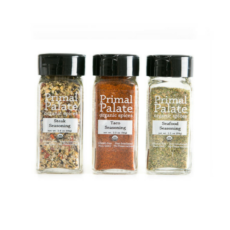 Primal Palate Organic Spices - Griddle and Grill Kit