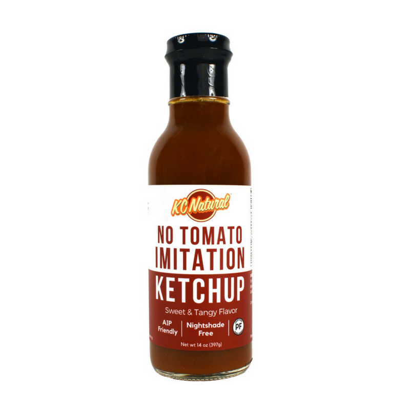 KC Natural - No Tomato AIP Ketchup - 14 oz