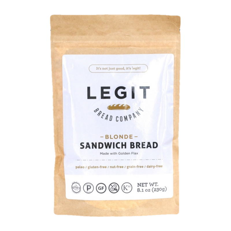 Legit Bread Company - Legit Sandwich Bread Mix - 8.1 oz