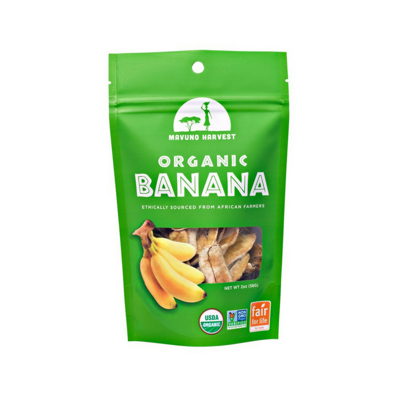 Mavuno Harvest - Organic Dried Banana - 2 oz