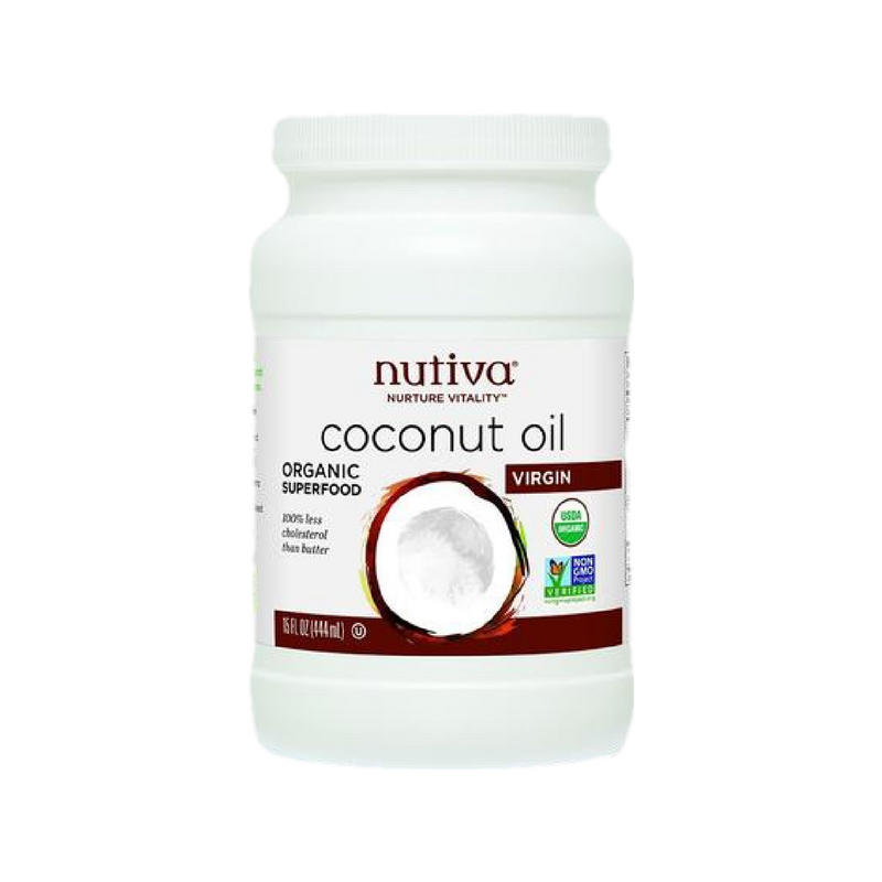 Nutiva - Organic Cold Pressed, Unrefined Virgin Coconut Oil - 15 oz