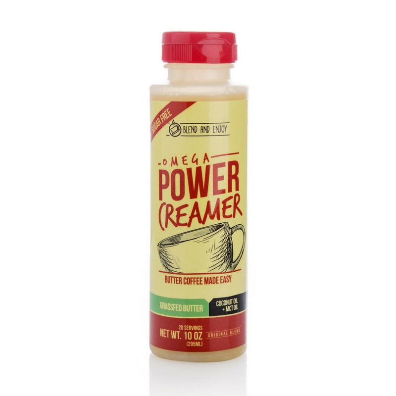Omega PowerCreamer - Butter Coffee Creamer - 10 oz