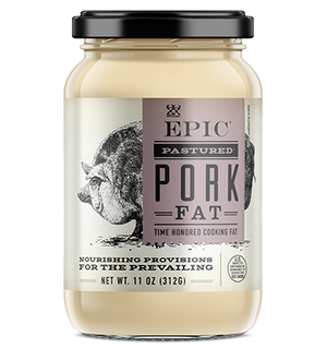 Epic - Animal Oils - Pastured Pork Lard - 11 oz