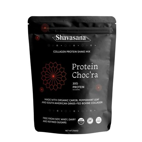 Shavasana - AIP Collagen Protein Shake Mix - Protein Choc'ra - 20 oz