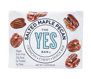 Yes Bar - Real Food Snack Bar - Salted Maple Pecan