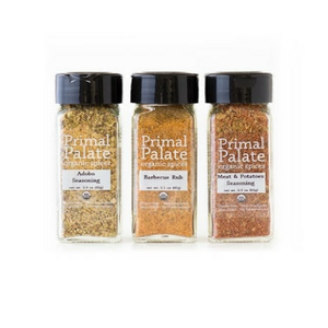 Primal Palate Organic Spices - Signature Blends Kit