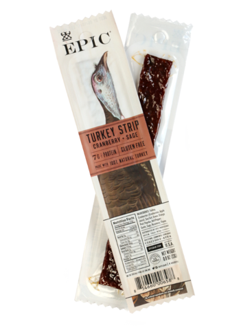 Epic - Snack Strips - Turkey Cranberry Sage