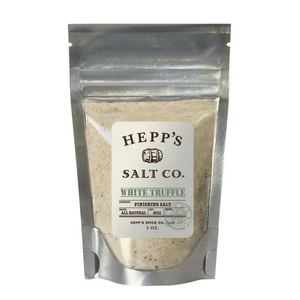 Hepp's Salt - White Truffle Sea Salt - 3 oz