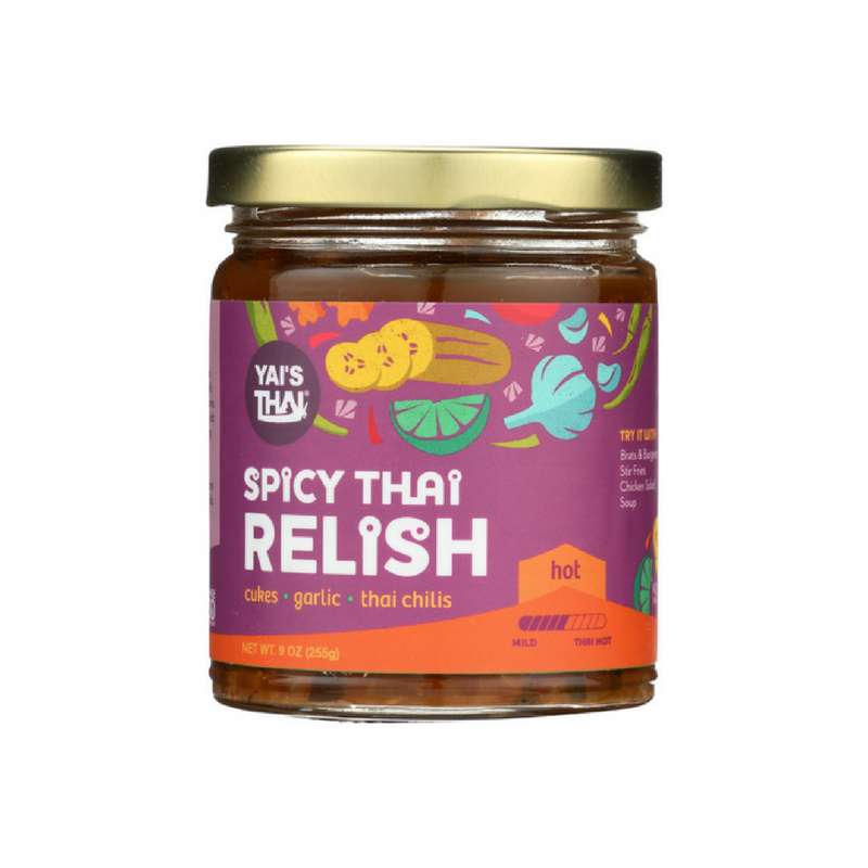 Yais Thai - Spicy Thai Relish - 9 oz