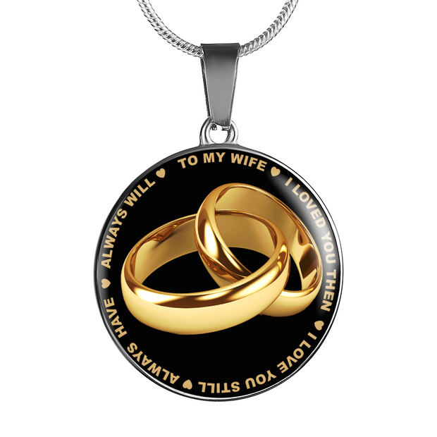 Wife Love Necklace