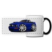 Ford Mustang Convertible Panoramic Mug - white/black
