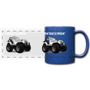 Jeep Renegade CJ Full Color Panoramic Mug - royal blue
