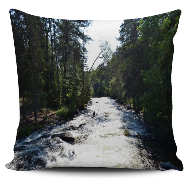 Relaxing Rapids Pillow Cover