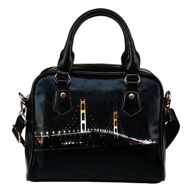 Mackinac Bridge Shoulder Bag