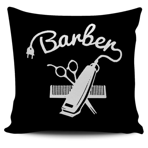 BARBER COMB PULL PILLOW