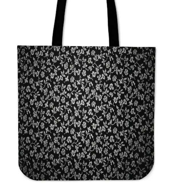 Rambling Roses Canvas Tote Bag
