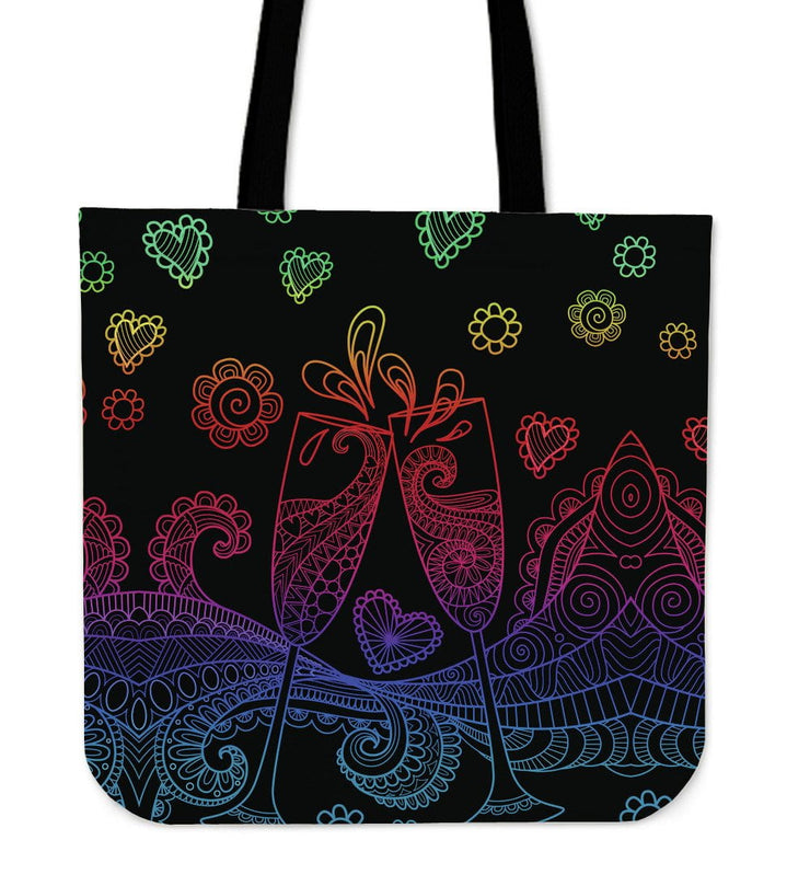 Celebrate Tote Bag for Champagne & Wine Lovers