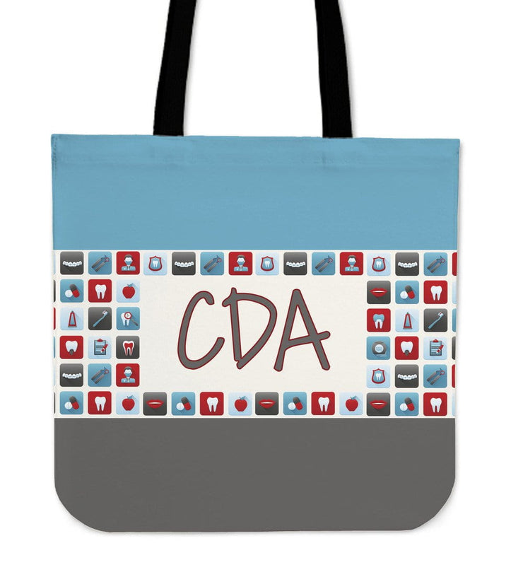 CDA Dental Assistant Canvas Tote