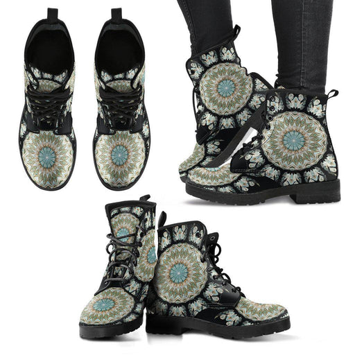 Mandala Women's Leather Boots