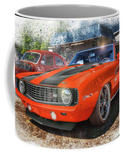 1969 Chevrolet Camaro Z28 Muscle Car Art - Mug