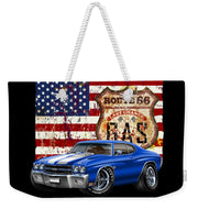 1970 Chevelle Flag - Weekender Tote Bag