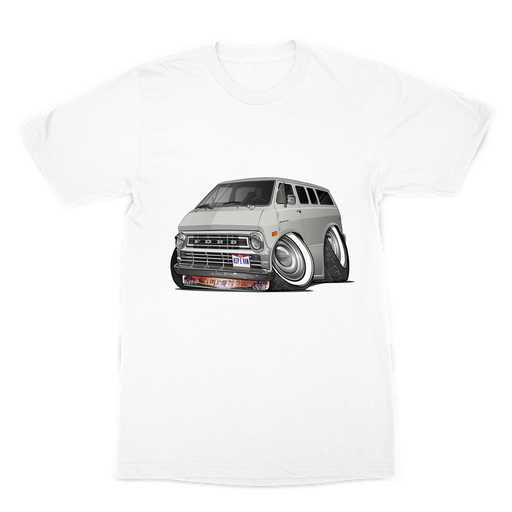 Ford Econoline Hip E Van Premium Sublimation Adult T-Shirt