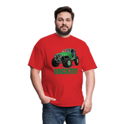 Green Jeep Rocktoy Rock Climber Men's T-Shirt - red