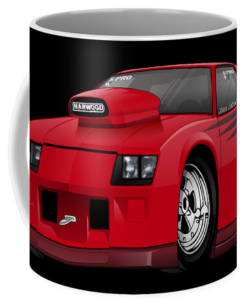 3rd Generation Camaro Drag Car - Mug
