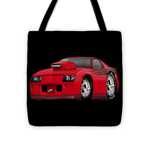 3rd Generation Camaro Drag Car - Tote Bag