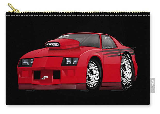 3rd Generation Camaro Drag Car - Carry-All Pouch