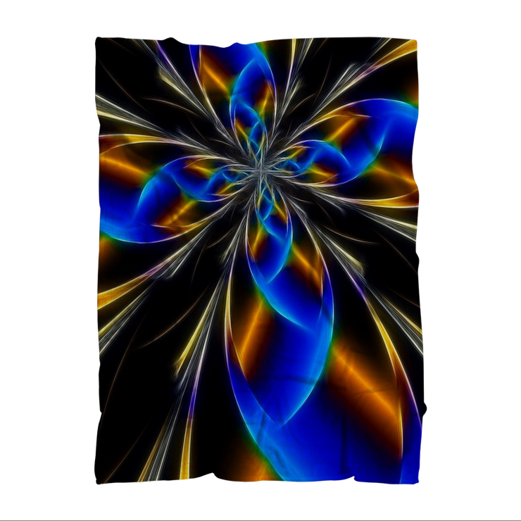 Abstract Premium Sublimation Adult Blanket