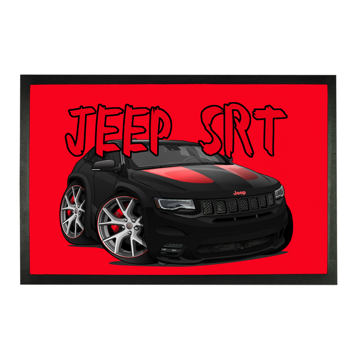 Jeep SRT Red Grand Cherokee Sublimation Doormat