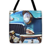 50's Chevy Blue - Tote Bag