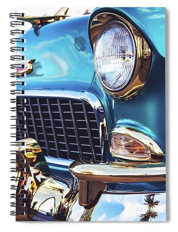 50's Chevy Blue - Spiral Notebook
