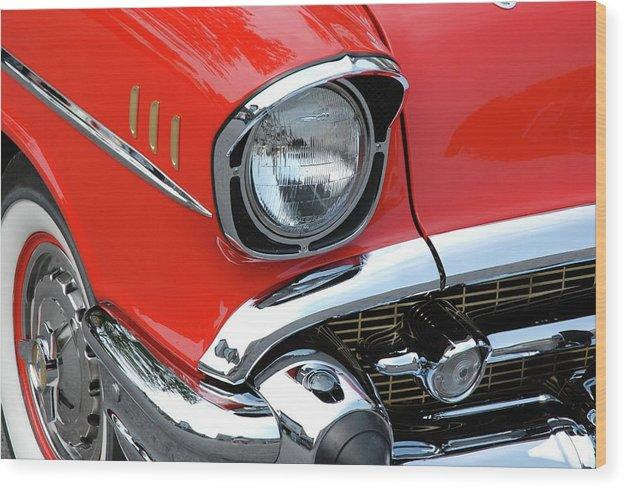 50's Chevy - Wood Print