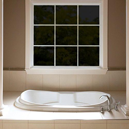 Gila PB78 Privacy Residential Window Film, Black, 36-Inch by 6-1/2-Feet - Let's Print Big