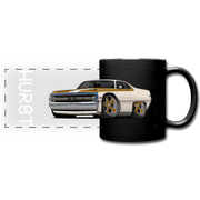 1970 Chrysler 300 Hurst Car Art Full Color Panoramic Mug - black