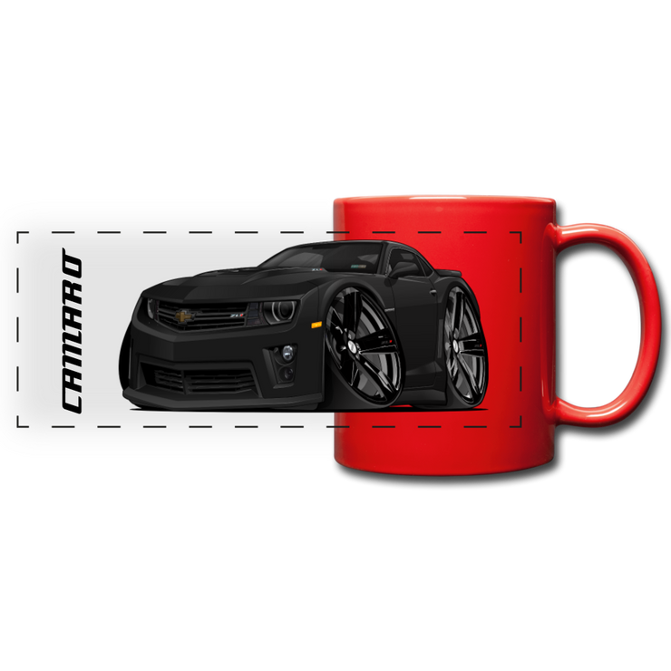 Full Color Panoramic Mug - red